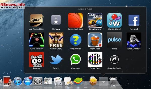 BlueStacks OSX