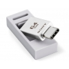 Sony USM-CA1 - flash drive with built-in USB Type-C and silicon cover